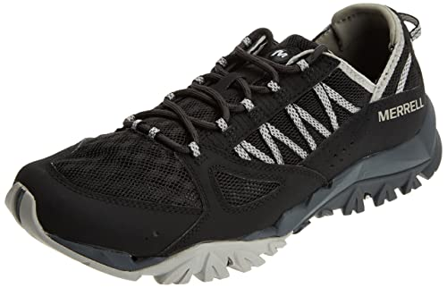 Tetrex Surge Crest, Zapatillas de Senderismo para Mujer, Negro (Black), 40 EU Merrell