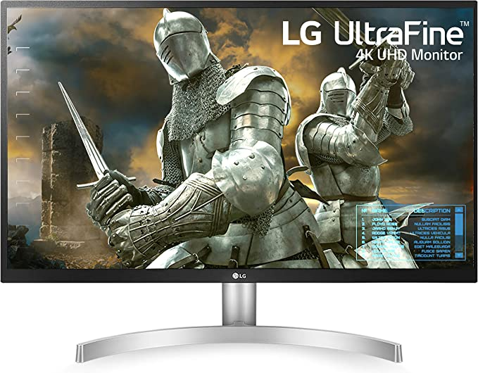 Amazon.com: LG 27UL500-W 27-Inch UHD (3840 x 2160) IPS Monitor with Radeon Freesync Technology and HDR10, White: Computers & Accessories