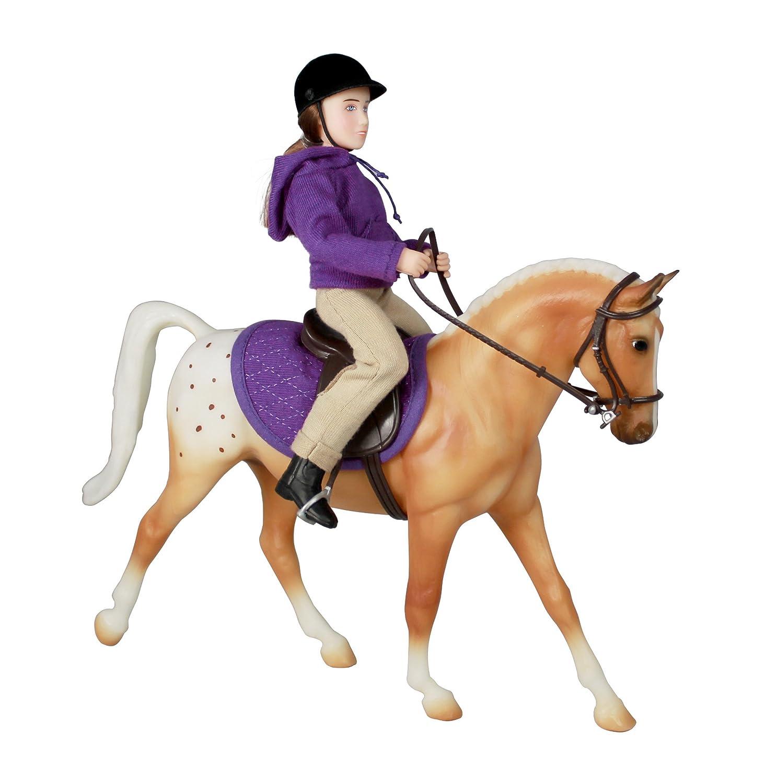 Breyer Classics - Cavallo e cavallerizza in miniatura, scala  1 12