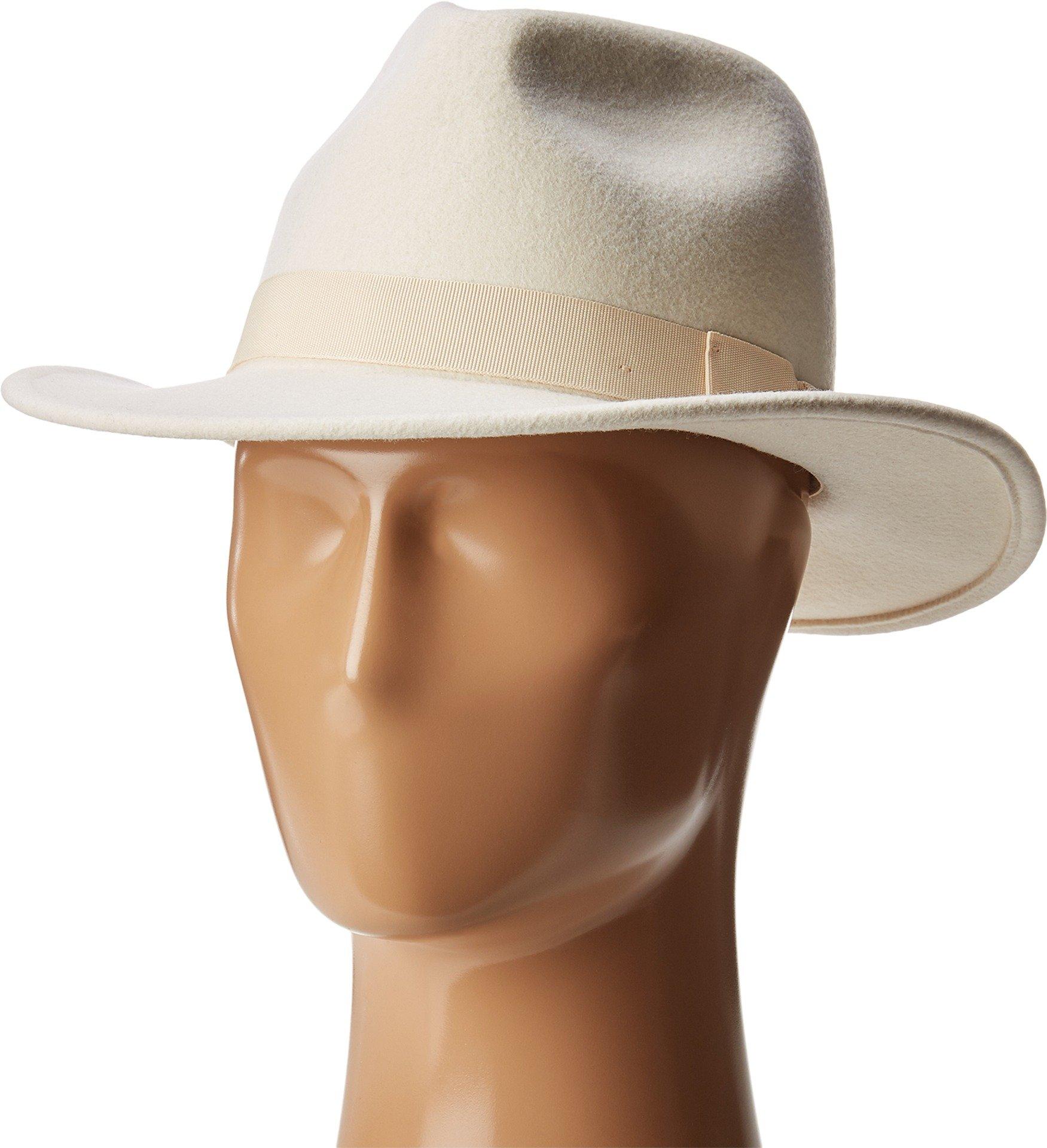San Diego Hat Company Women's WFH8039 Felt Fedora Hat Ivory Hat