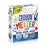 Crayola Crayon Melter, Gift for Boys and Girls, Kids, Ages 7, 8, 9, 10 and Up, Holiday Toys, Arts and Crafts,  Gifting