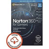 Norton 360 for Gamers 2021 | Antivirus software para 3 Dispositivos | 1 año, PC/Mac/tablet/smartphone | Código de…