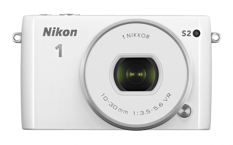 Nikon ミラーレス一眼 Nikon1 S2 標準パワーズームレンズキット ホワイト S2PLKWH  ホワイト B00KBKTUH8