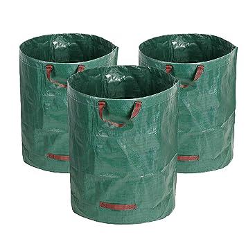Directtyteam Sac De Jardin Pliable 270l Sac A Dechets Verts Solide