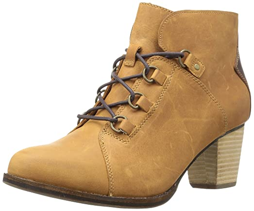 Women's Arbor Wp Lace up Bootie with Stacked Heel Ankle Boot