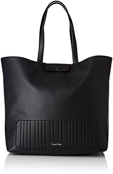 0d0c2457cf Calvin Klein Women s K60K603598001001 Top-Handle Bag Black Black (Black 001)