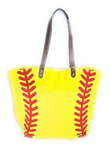ce6ac0505d Amazon.com  Canvas Softball Tote Bag  Shoes