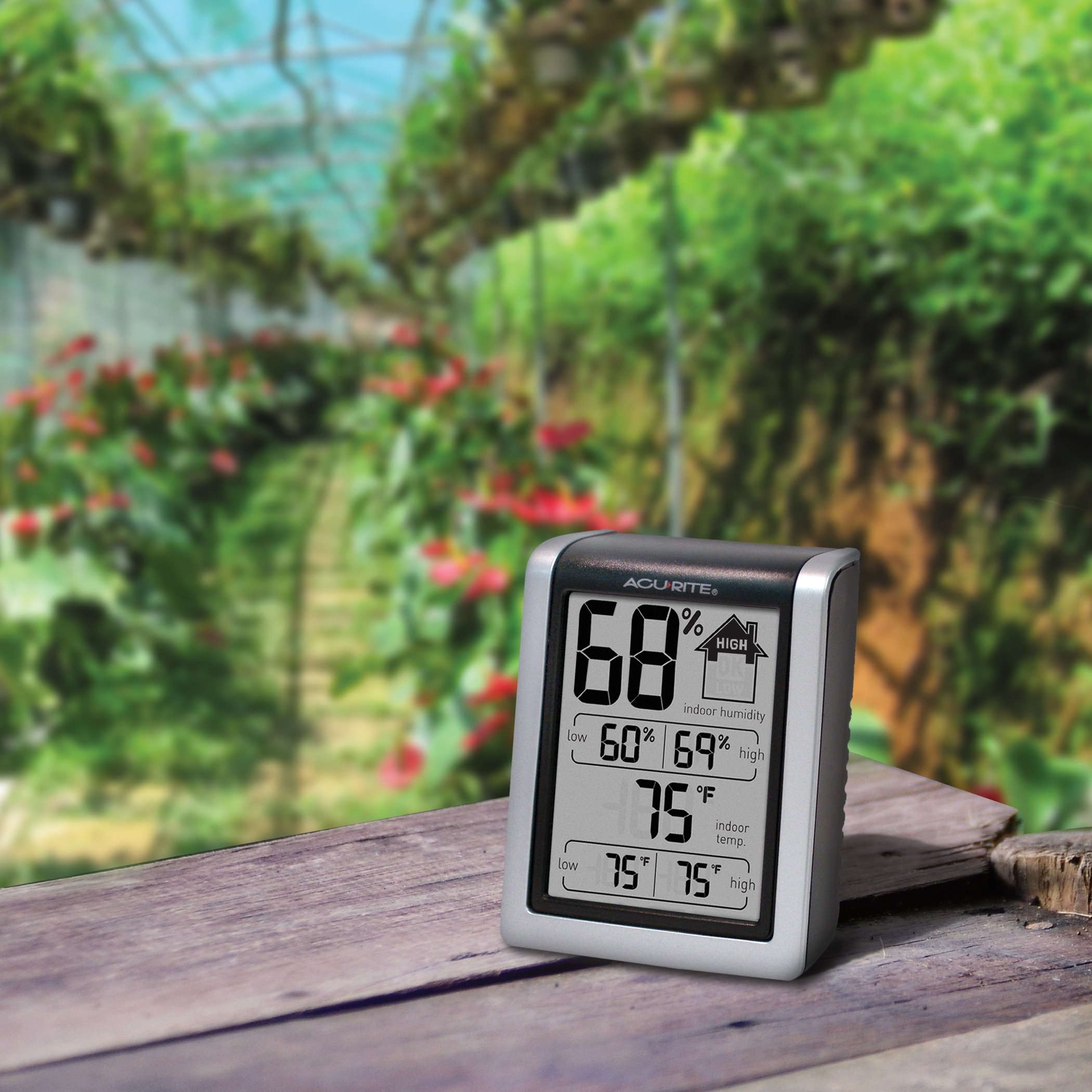 how to read acurite humidity monitor
