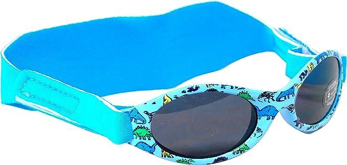 9333edbc4c EDZ Sunnyz Funda para gafas de sol para bebés y niños pequeños, de 0 a 2  años azul azul Dinosaurio: Amazon.es: Bebé