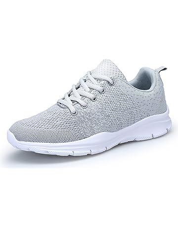 purchase cheap 2ba43 b3c22 DAFENP Chaussures de Course Running Sport Compétition Trail entraînement  Homme Femme Basket Sneakers Outdoor Running Sports