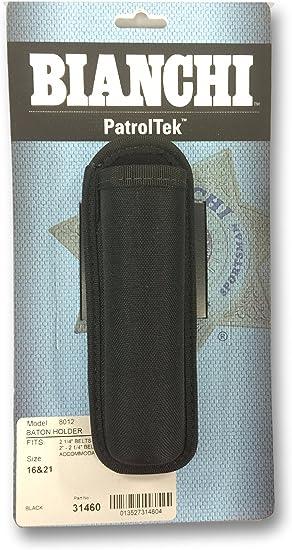 Bianchi 26344 PatrolTek Black Expandable Police Tactical Duty Baton Holder
