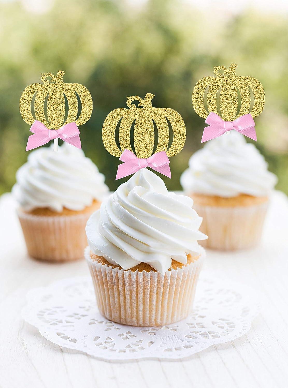 Little Pumpkin Baby Shower Cake Topper