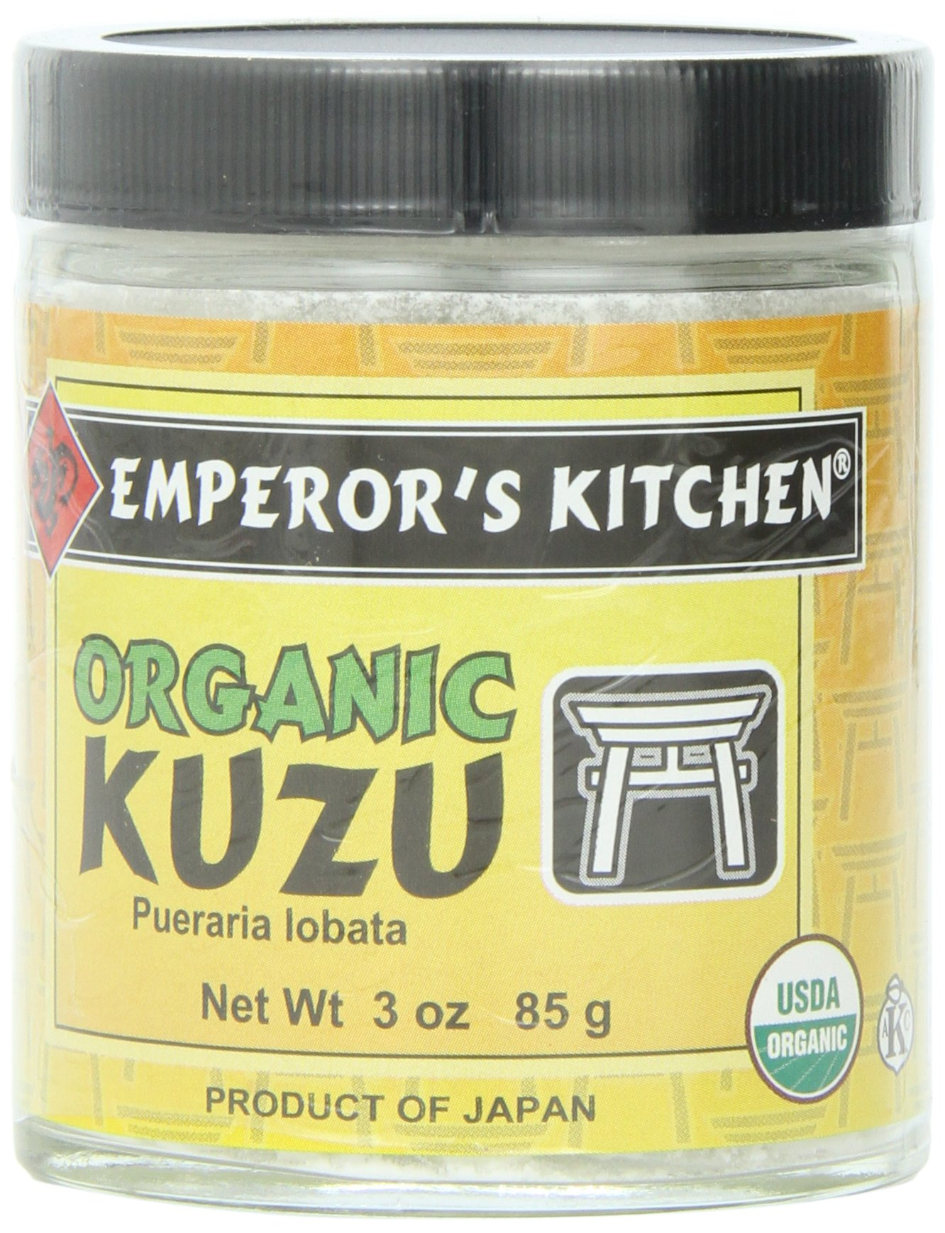 Emperor's Kitchen Organic Kuzu Powder, 3-Ounce