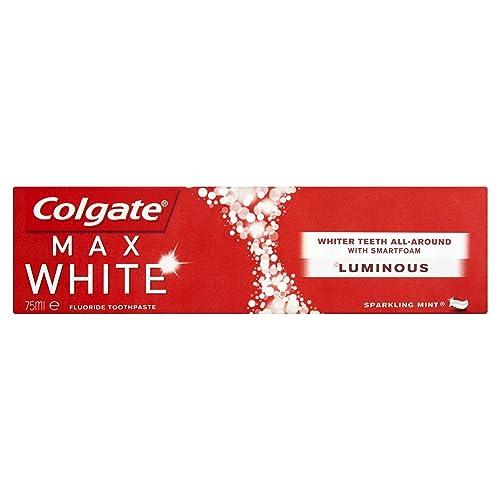 Colgate Max White Luminous Toothpaste, 75 ml