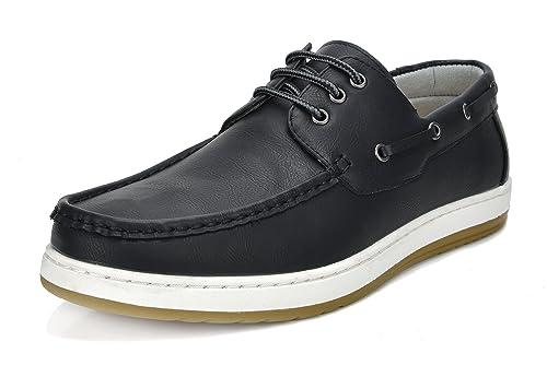 986bdaaf5dd4c Bruno Marc Men's Pitts Moccasins Boat Shoes