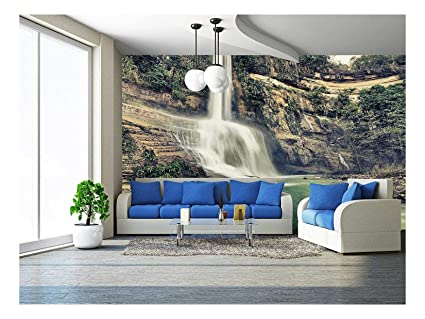 wall26 beautiful waterfall vintage style bohol philippinesimage unavailable