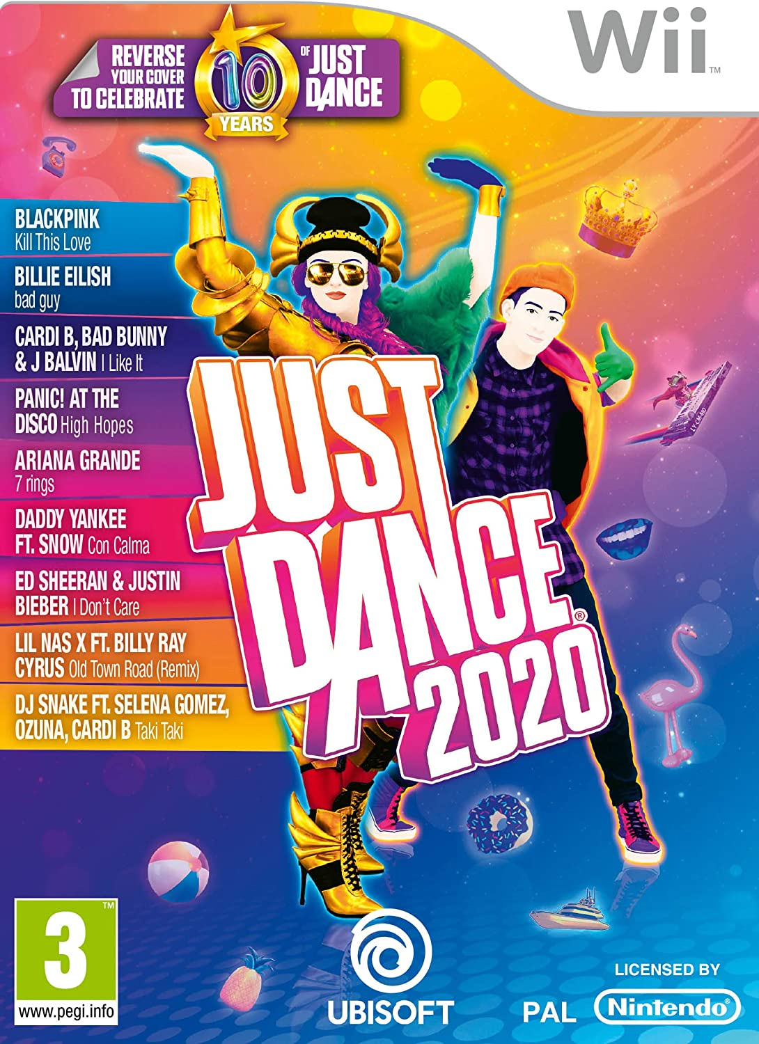 Just Dance 2020 (Nintendo Wii) [Importación inglesa]: Amazon.es ...