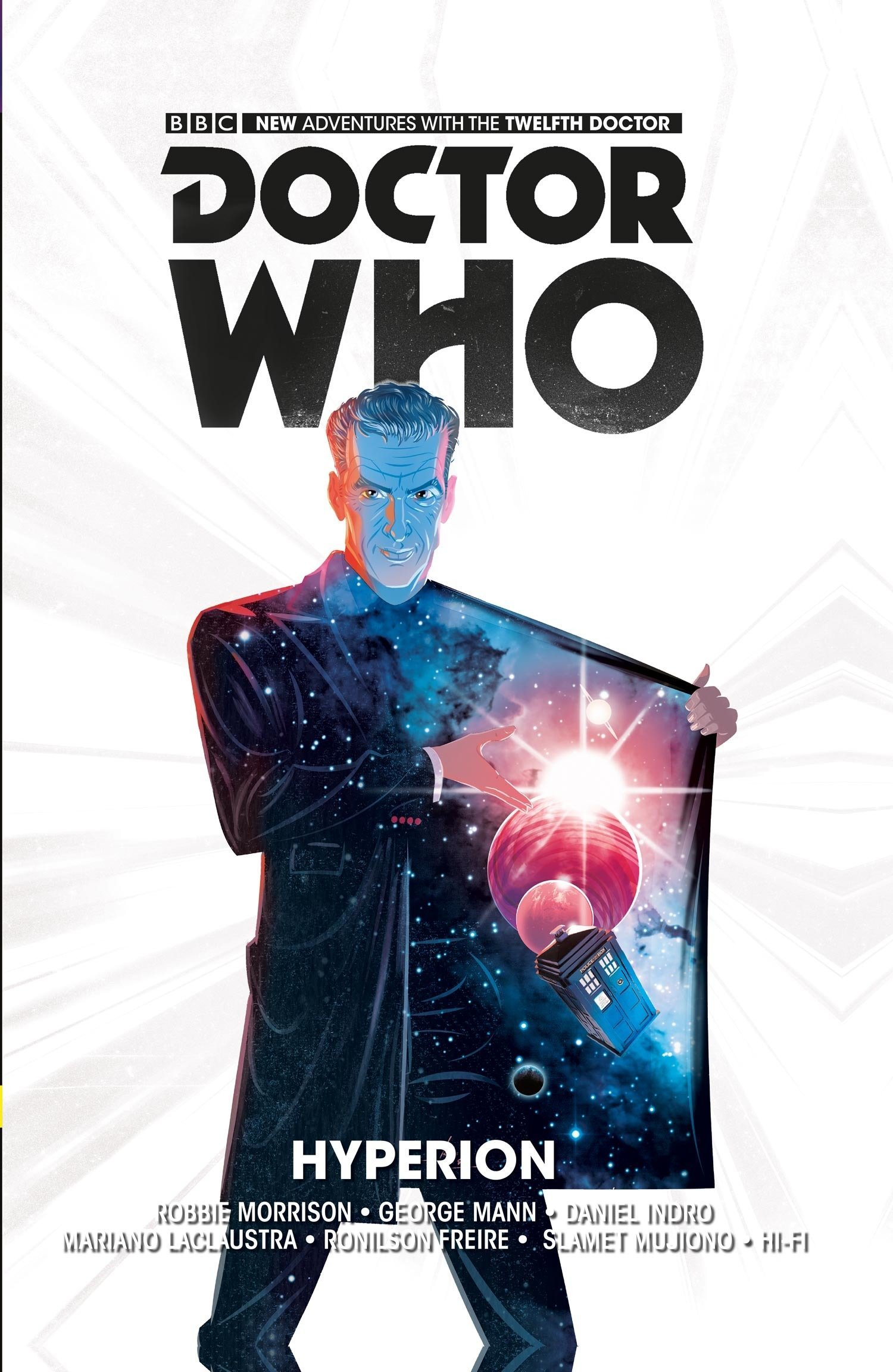 Download Doctor Who: The Twelfth Doctor Volume 3 - Hyperion (Doctor Who New Adventures) pdf