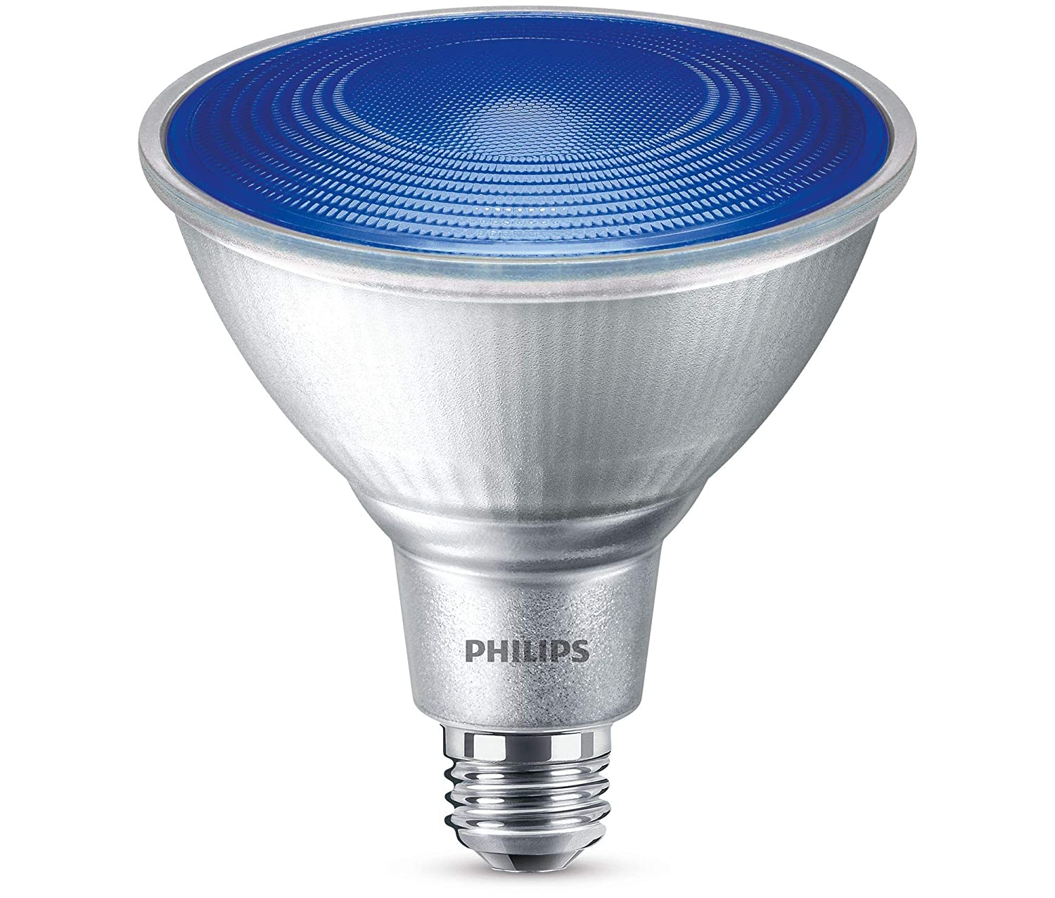 Philips non dimmable 13 5w blue 40 par38 led bulb outdoor and