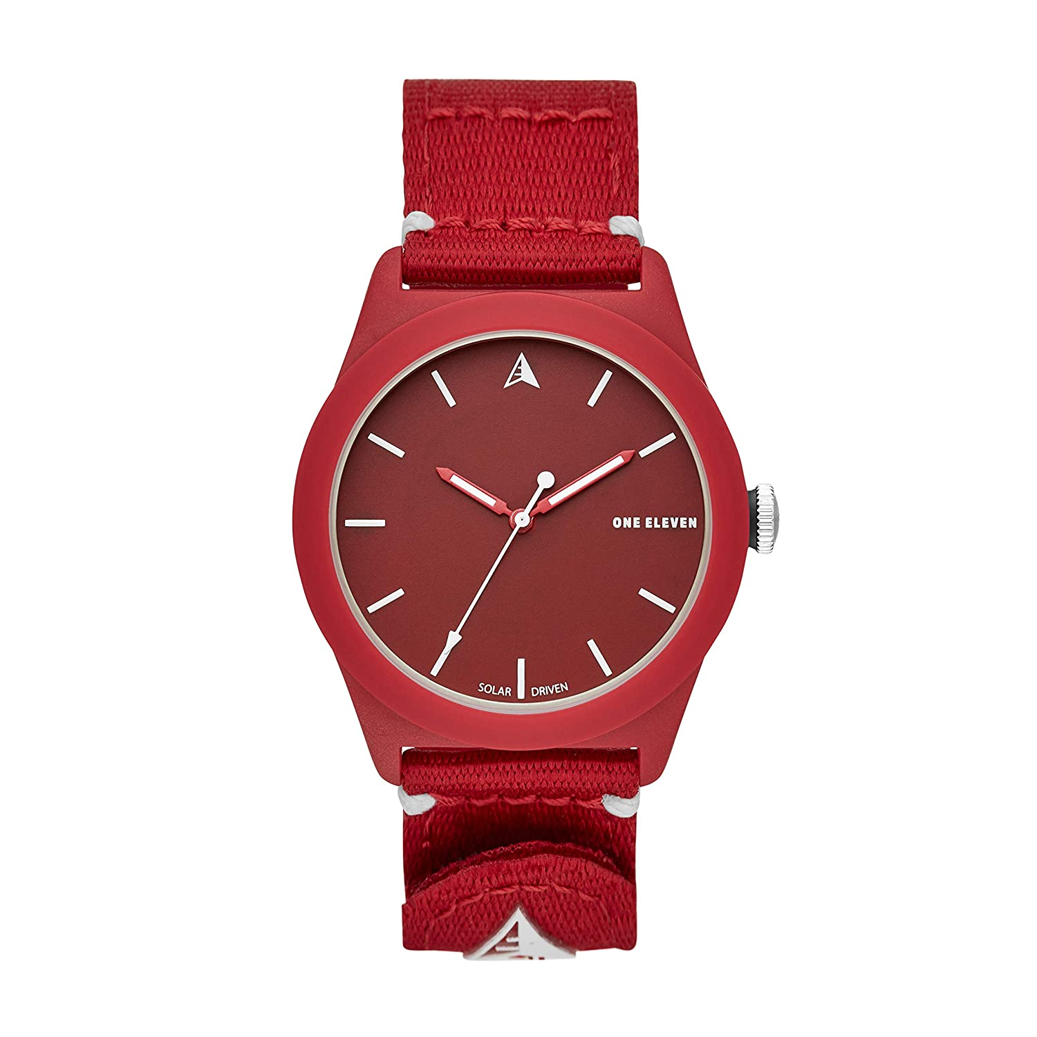 One Eleven 111 SWII Sustainably Crafted Bio-Plastic and Recycled Nylon Casual Solar Watch