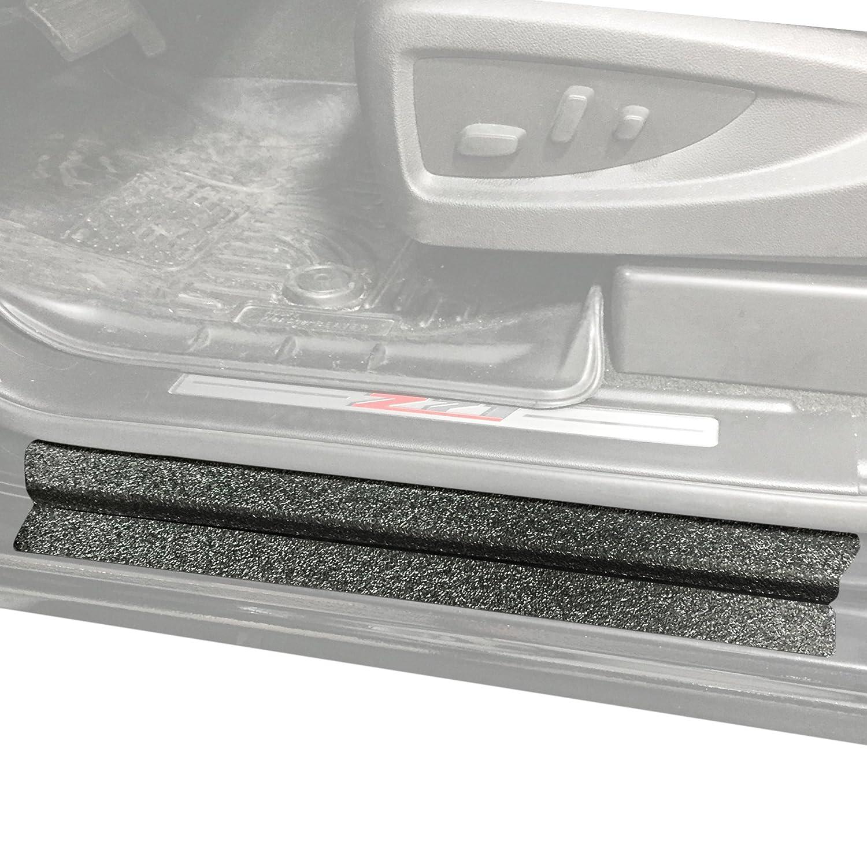 ドアエントリガードScratch Shield 2014 – 2018年シボレー/GMCシルバラード/シエラ1500 Double Cab 8pcキットプロテクター(Does Not Fit Extended Cab with Suicideスタイルバックドア) B0779D3YDT