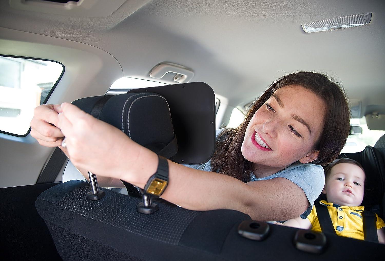 Inastillable PRODUCTO PREMIUM MODELO MEJORADO El espejo retrovisor n/º1 M/ÁS SEGURO para los asientos de ni/ños orientados hacia atr/ás Espejo para vigilar al beb/é en el coche ROYAL RASCALS