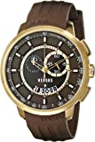 Versus by Versace Men's SGV120014 Manhattan Analog Display Quartz Brown Watch