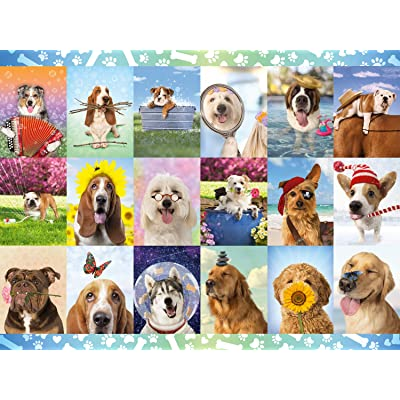 Buffalo Games - It's a Ruff Life - 1500 Piece Jigsaw Puzzle: Toys & Games