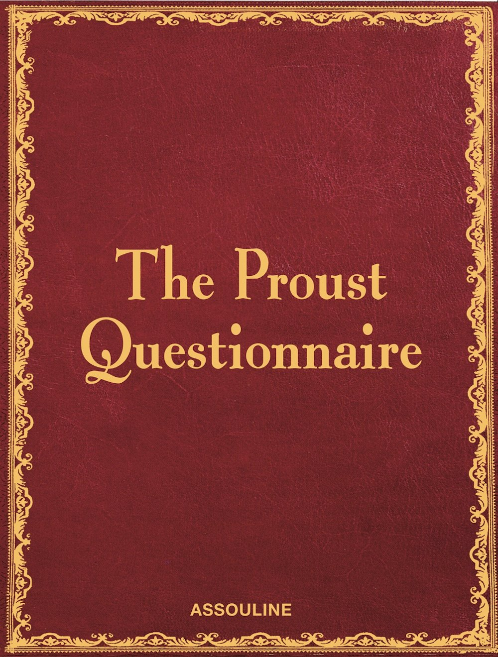 Image result for proust questionnaire book pink