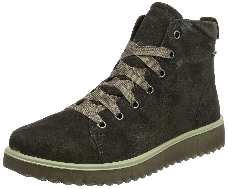 Legero Campania, Zapatillas Altas para Mujer 37.5 EU Marrón (Asphalt 48)