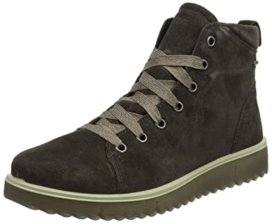 Womens Campania Hi-Top Trainers, Grey Legero