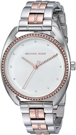 8bb8d2065eab Amazon.com  Michael Kors Women s Analog-Quartz Watch with Stainless ...