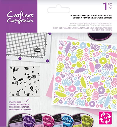 Spring Has Sprung Photopolymer Background Rotation Stamp Crafters Companion