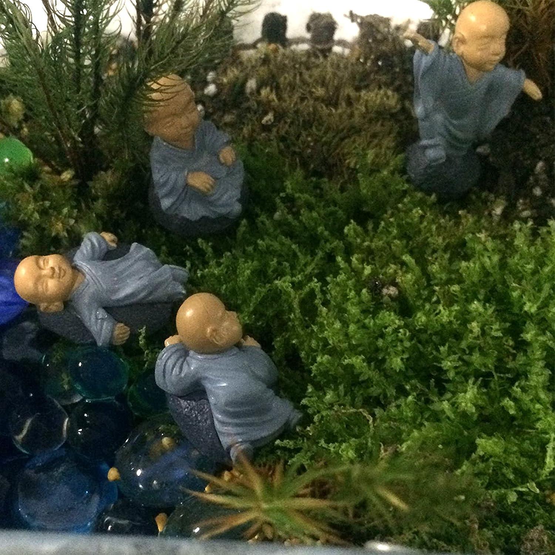 Bleu Musykrafties moine Zen Garden miniature 4/en Lot