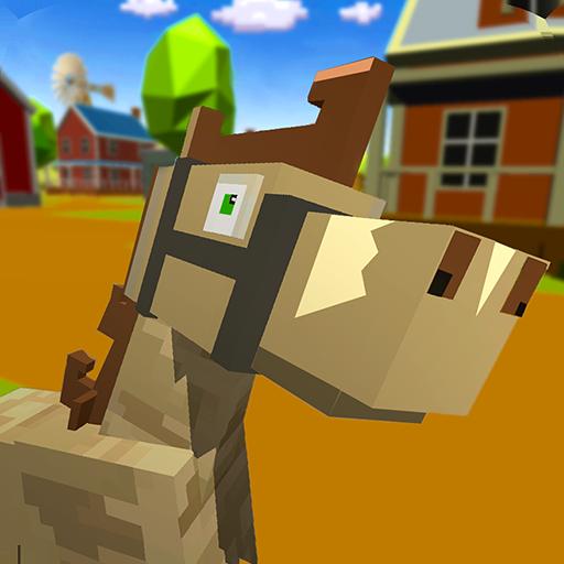 Blocky Horse Craft Simulator - Horse Craft