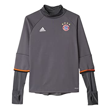 official photos c7b68 2258d adidas FCB TRG Top Y Sweatshirt 1 Kit FC Barcelona, Boys, Grey (Granit),  152 Amazon.co.uk Sports  Outdoors