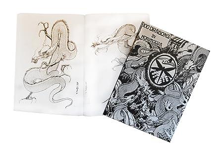 Tatuaje Flash tipo libro Art A4 - 100 de dragones de Por Horimouja ...