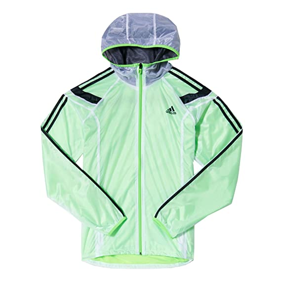 ab173fdc adidas Essentials Anthem Mens Windbreaker Jacket Coat Green - S ...