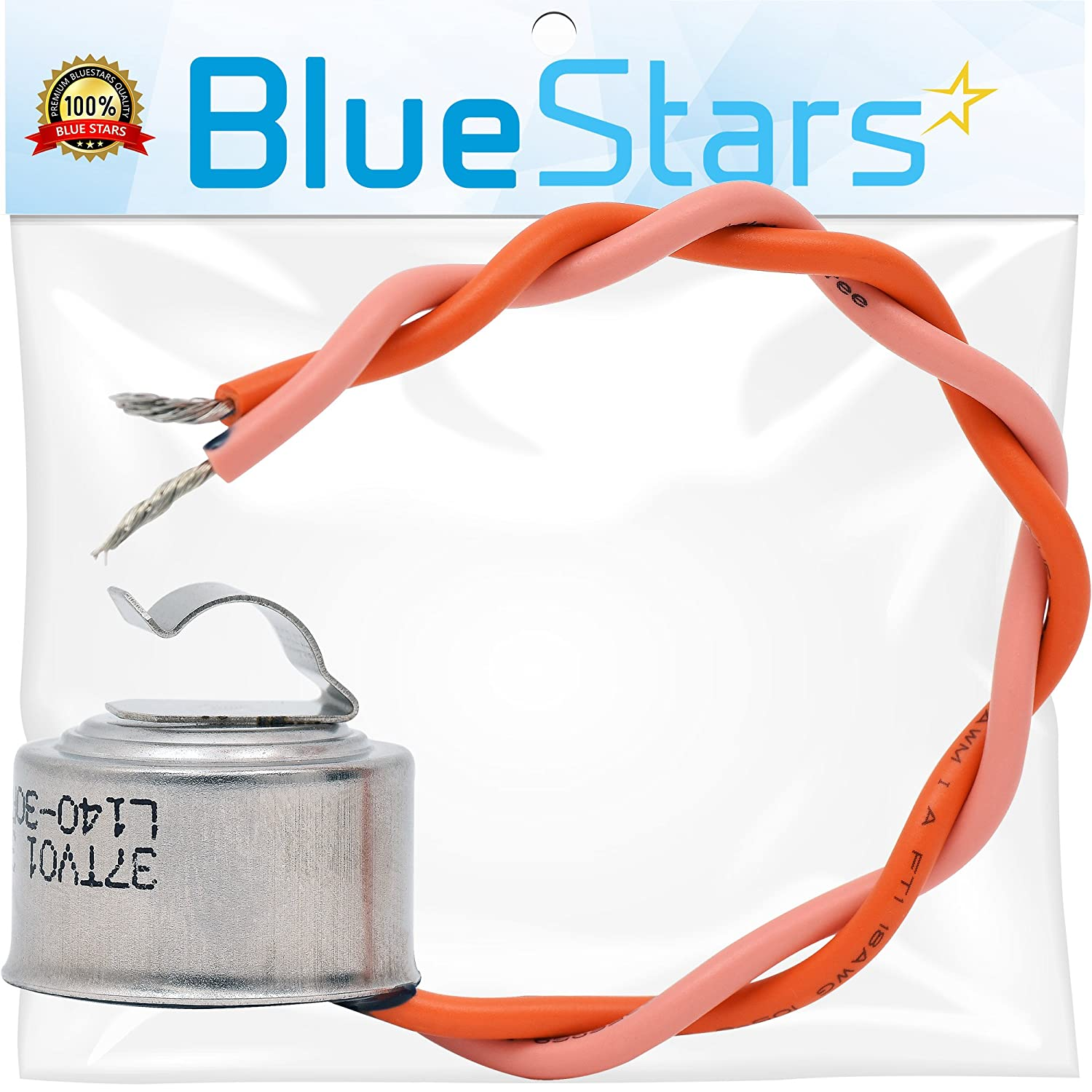 WR50X10068 Defrost Thermostat Replacement Part by Blue Stars - Exact Fit for GE Refrigerators - Replaces AP3884317 PS1017716