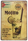 Amazon Price History for:ERLOOD La Habana Cuba Mojito Drink Tin Sign Wall Retro Metal Bar Pub Poster Metal 12 X 8