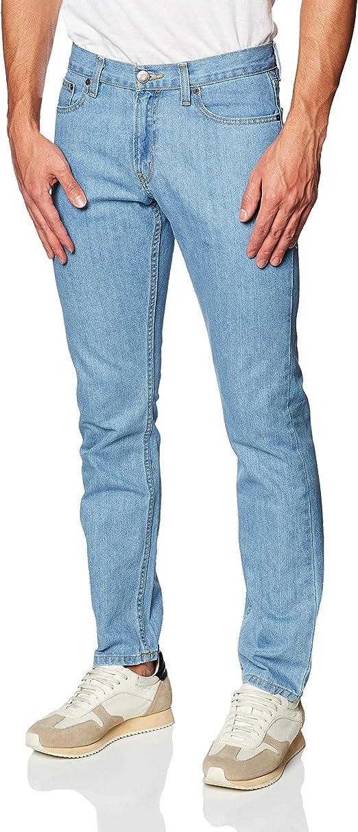 Oggi VAXTER AVY Bleach Jeans para Caballero, Color AVY Bleach, Talla 40: Amazon.com.mx: Ropa, Zapatos y Accesorios