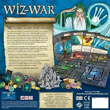 Fantasy Flight Games - Juego de Mesa: Amazon.es: Juguetes y juegos