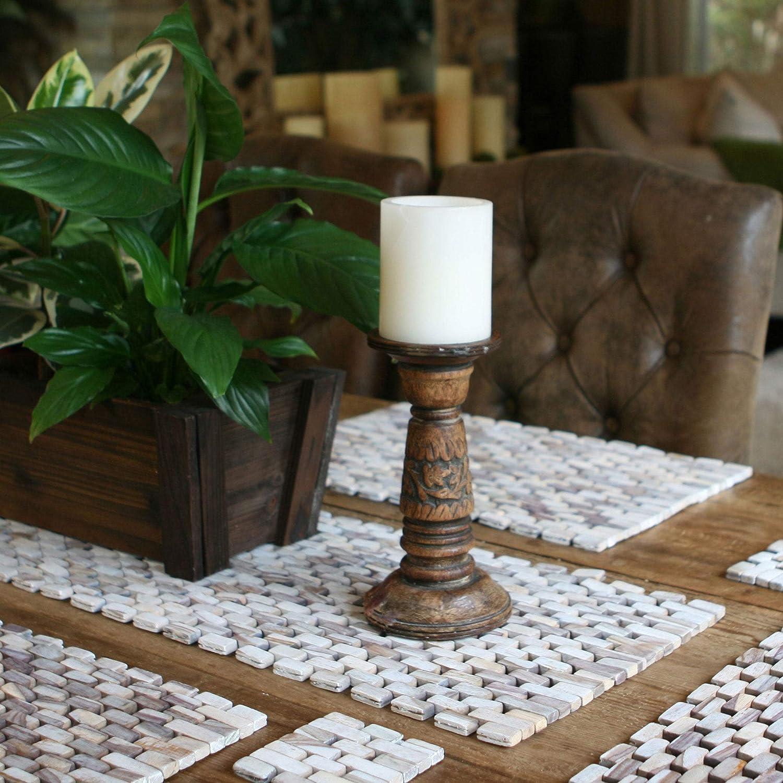 Hip O Modern Living Handmade White Wash Finish Rosewood Table Runner Indonesia Home Kitchen