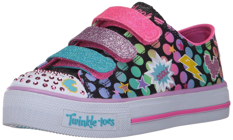 Skechers Kids' Shuffles-Poppin' Posse Sneaker 10835L