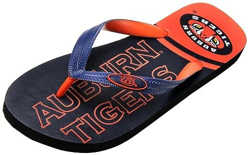 Men's College Edition Auburn ... Tigers Flip-Flops shop offer cheap online qWQajmoT6j