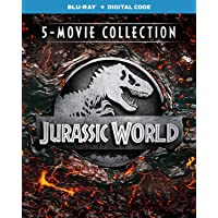 Deals on Jurassic World 5-Movie Collection Blu-ray