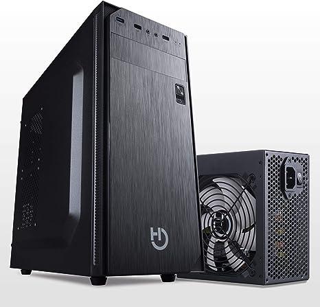 Hiditec Pack Torre PC ATX KLYP PSU y Fuente de Alimentación PSU 500W | Formato ATX | Diseño Resistente y Robusto | Materiales de Calidad: Amazon.es: Informática