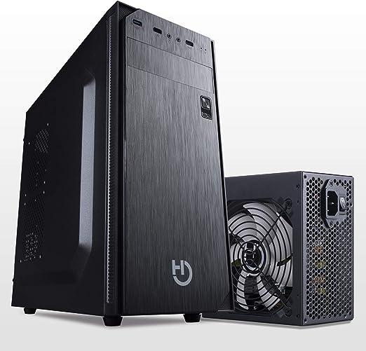 Hiditec Pack Torre PC ATX KLYP PSU y Fuente de Alimentación PSU 500W   Formato ATX   Diseño Resistente y Robusto   Materiales de Calidad: Amazon.es: Informática