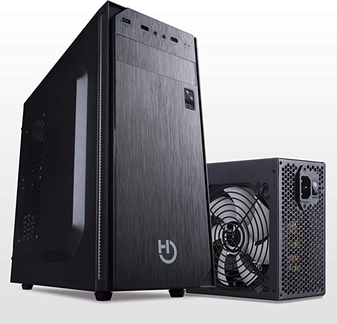Hiditec Pack Torre PC ATX KLYP PSU y Fuente de Alimentación PSU ...