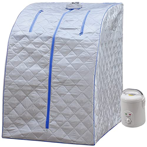 Durherm Portable Personal Therapeutic Spa Home Steam Sauna